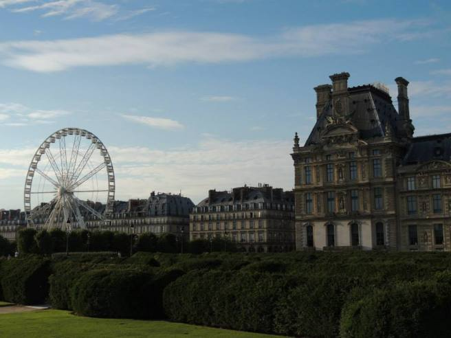 Jardin des Tuileries, Paris, France. (Photo by Lauren Lewis)