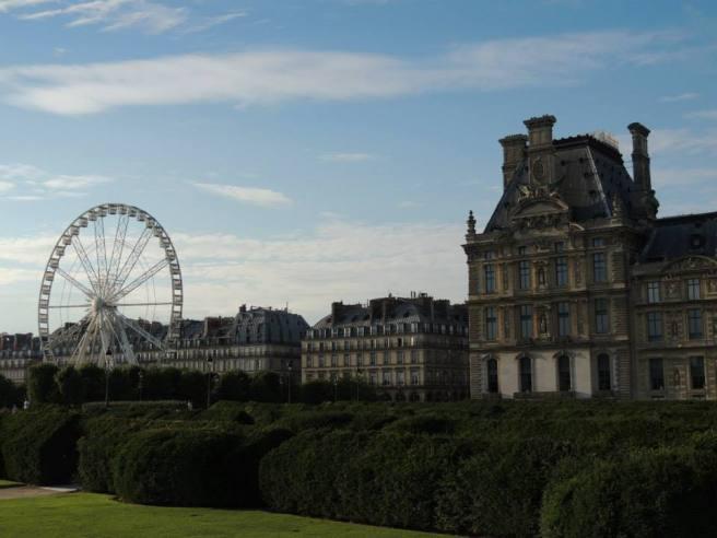 Jardin des Tuileries, Paris, France. (Photo by Lauren Lewis)